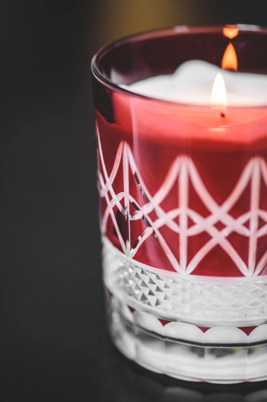 świeca w krysztale