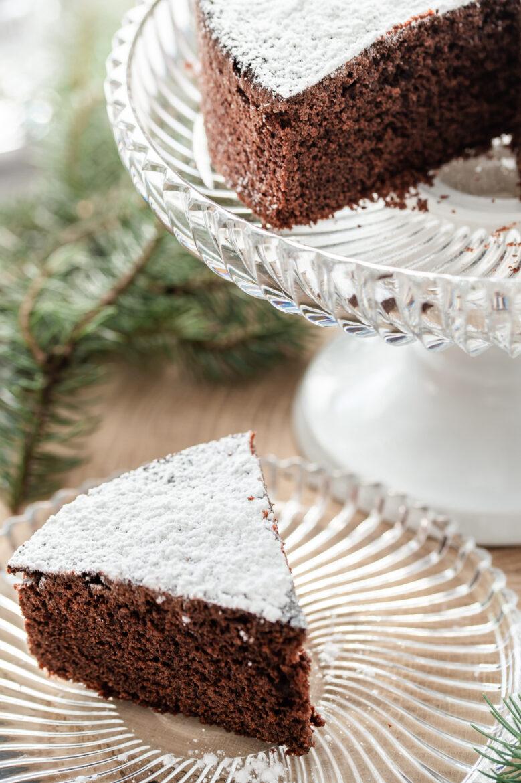 kryształowa patera na ciasto