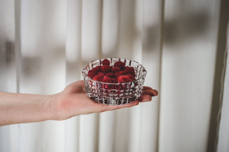prezent świąteczny miska kryształowa