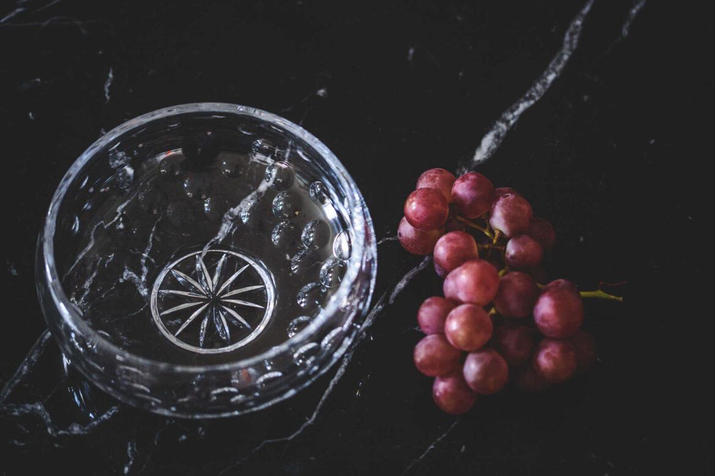 miska z kryształu AERIS huta julia